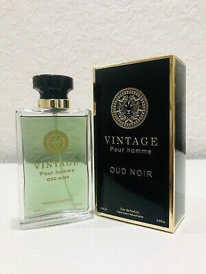 Vintage Pour Homme Oud Noir Eau De Parfum 3 4fl Oz 100mle By Secret Plus New In 2021 Perfume Men Perfume Perfume Bottles