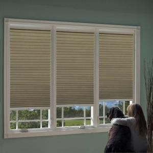 Home Decorators Collection Shadow White Cordless Blackout Cellular Shade 17 In W X 48 In L 10793478654734 The Home Depot Blackout Cellular Shades Cellular Shades Cordless Cellular Shades