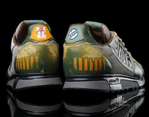 adidas originals ZX 800 boba fett the best shoes ever.