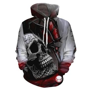 Men/'s Americana Skull C9 Black Zipper Hoodie USA Flag Biker America Halloween