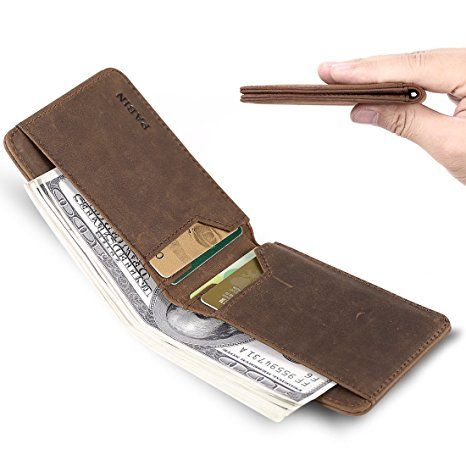c4561a695006 14. Front Pocket Wallets for Men RFID Blocking Slim Bifold Leather ...