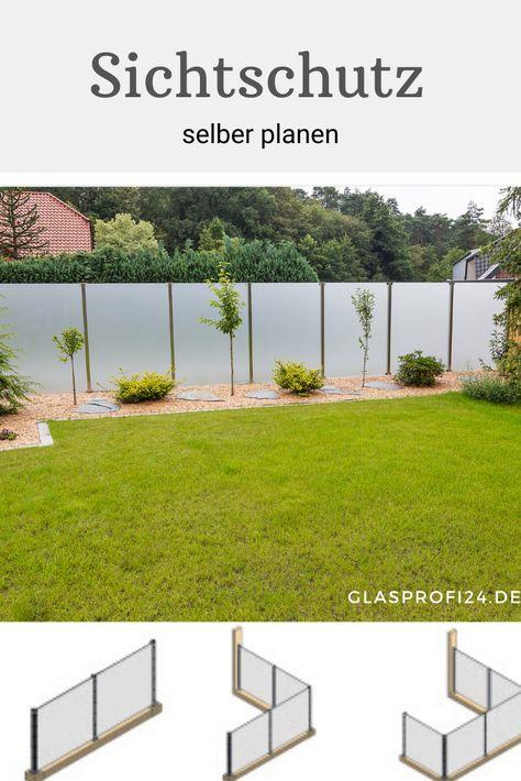 Moderner Windschutz Terrassenrenovierung Gartengestaltung Windschutz