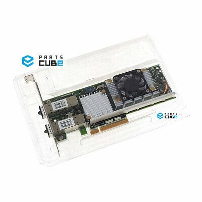 Sponsored Dell Broadcom Bcm957711a1113g 10g Optical Dual Port Sfp 10gb Nic Network Card Port Optical Dual