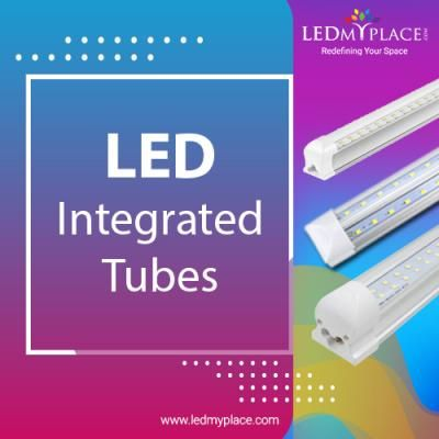 Led Integrated Tubes For Indoors Buy Now Cool Lighting Led Tubes Led