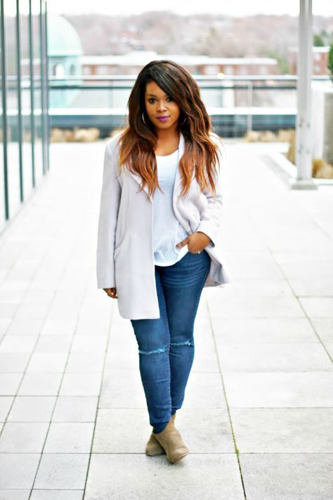 10 more simple fall outfits curvy & &