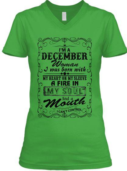 I M A December Woman T Shirt T Shirts For Women Womens Shirts Cool T Shirts