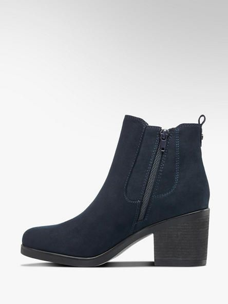 Granatowe Botki Damskie Graceland 1110777 Deichmann Com Shoes Ankle Boot Boots