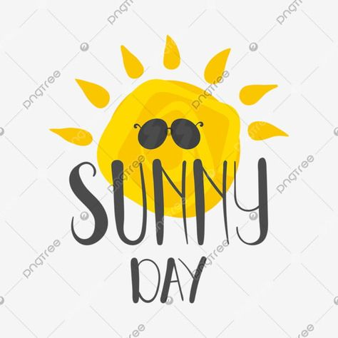 Hand Drawn Sunny Day For Summer Letter With The Sun Background Sun Clipart Summer Sun Png And Vector With Transparent Background For Free Download Happy Christmas Greetings Clip Art How To Draw Hands