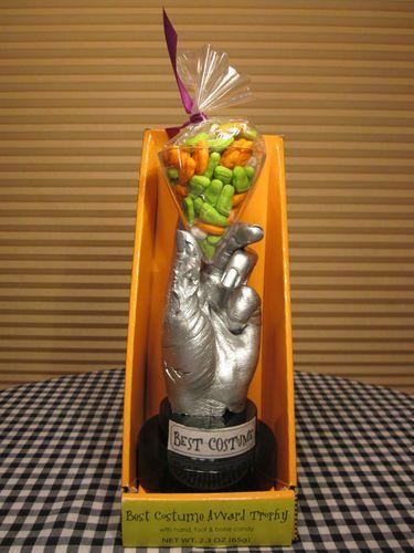 Best Halloween Costume Award Trophy Mint in Package | Halloween ...