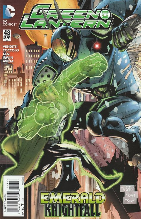 Page Preview and Covers of Hal Jordan and the Green