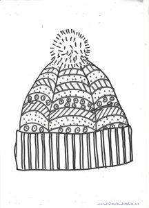 Winter Hat And Mittens Craft Ideas For Kids Preschool And Kindergarten Mandala Coloring Pages Art For Kids Winter Crafts Preschool