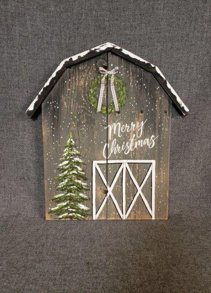 New Glam Farmhouse Christmas Tree 38 Ideas #farmhouse
