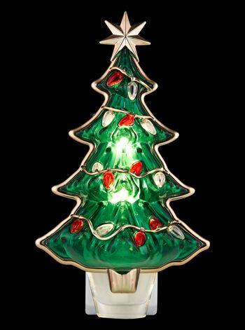 Christmas Tree Nightlight Wallflowers Fragrance Plug Bath Body Works Classic Christmas Tree Bath And Body Works Christmas Night