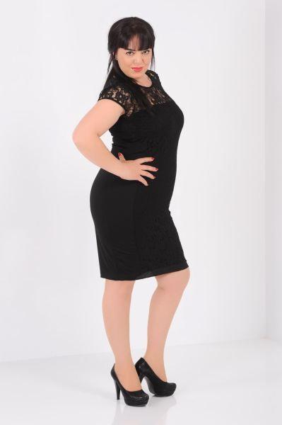 Buyuk Beden Parcali Dantel Buyuk Beden Siyah Elbise Gotik Abiye Bayan Gunluk Kombin Stil Modern Kisa Modavigo Siyah Elbise Elbise Elbise Modelleri