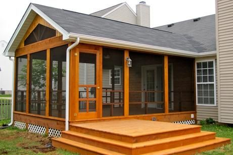 Decks Sun Screen Rooms Screened Porch Designs Decks And Porches Screened In Deck