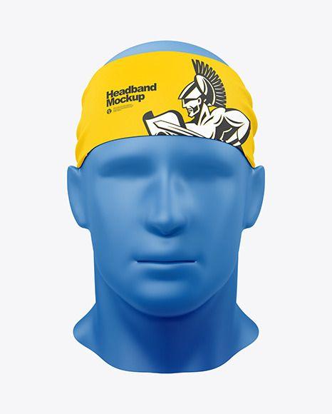 Download Headband Mockup Front View In Apparel Mockups On Yellow Images Object Mockups Clothing Mockup Mockup Mockup Free Psd