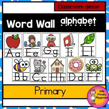 Alphabet Posters | Language/Literacy - Early Childhood | Phonics