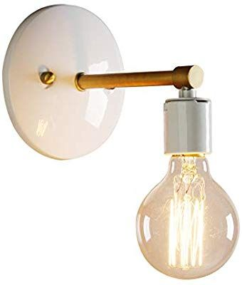 Amazon Com Permo Industrial Scandinavian Mini Single Sconce