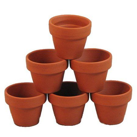 Patio Garden Small Clay Pot Clay Flower Pots Clay Pot Crafts