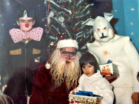 Kid Idols Creepy Christmas Creepy Awkward Family Christmas