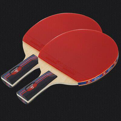 Shakehand Penhold Grip Table Tennis Sports Paddle W Ping Pong Bat Balls Set Paddle Sports Table Tennis Ping Pong
