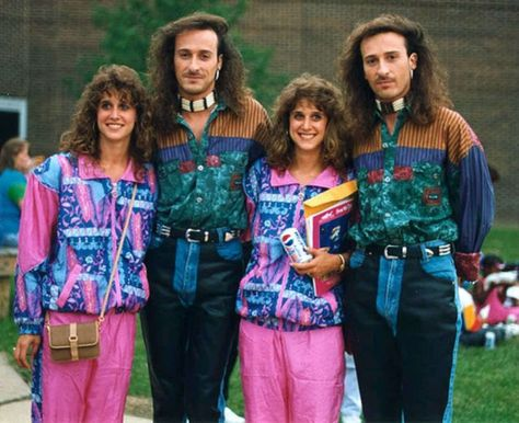 15 Hilarious Identical Twin Couples Fashion 80s Fashion Twins
