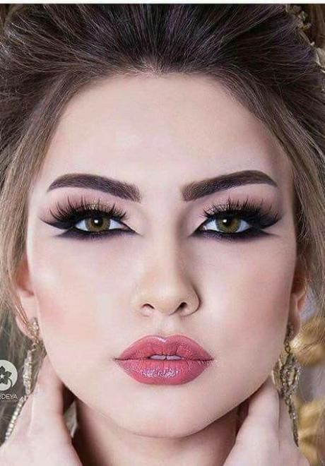 Glamorous Makeup Looks For The Arab Bride In 2020 Arabic Eye Makeup Glamorous Makeup Makeup