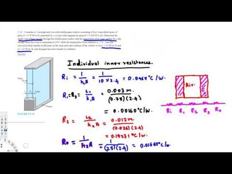 Heat Transfer Determine Steady Rate Of Heat Transfer And Inner Surface Heat Transfer Surface Heat