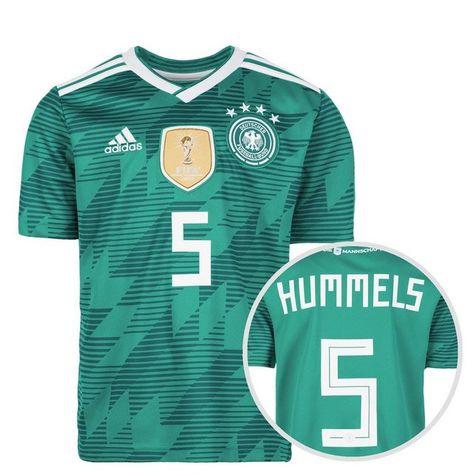Fussballtrikot Dfb Wm 2018 Auswarts Hummels Fussball Trikot Und Fussball Weltmeisterschaft
