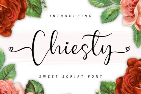 Chiesty (Font) by AV Type · Creative Fabrica