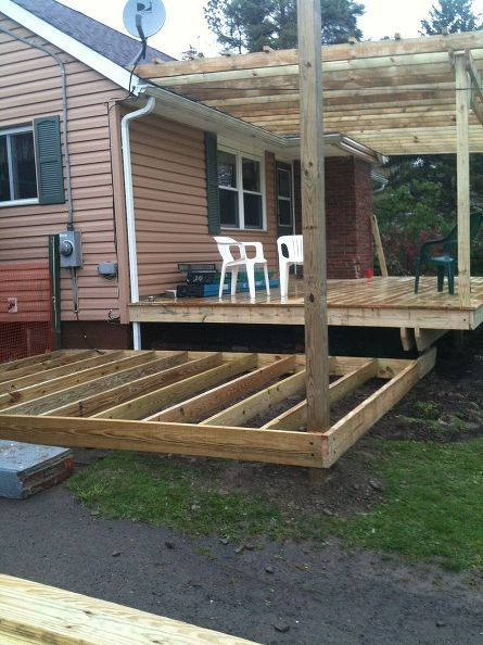 Front Porch Renovation Porches And Patios