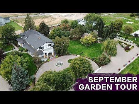 September Garden Tour Garden Answer Youtube Garden