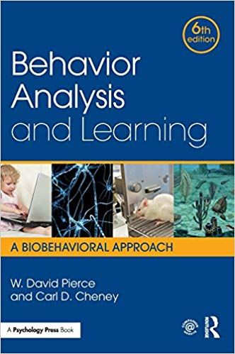 Behavior Analysis And Learning A Biobehavioral Approach 6th Edition Ebook Behavior Analysis Psychology Textbook Behavior