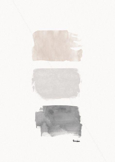 blush, dove grey, charcoal