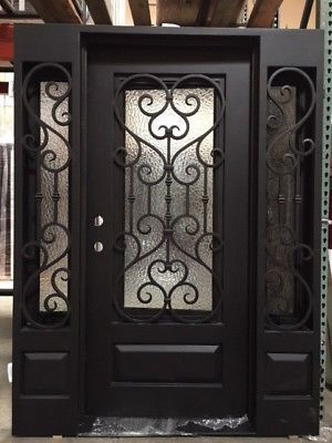 Picture 3 Of 12 Wrought Iron Doors Iron Doors Wrought Iron