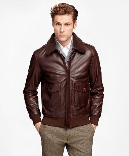Men's Vintage Jackets & Coats   Brown leather bomber jacket, Leather jacket  outfit men, Leather jacket