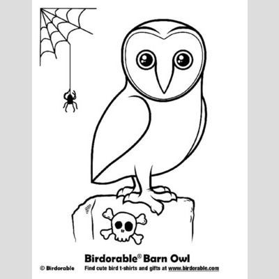 Fun Downloads Activity Pages At Birdorable Owl Coloring Pages