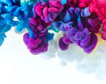 Art Contemporain Art Fluo Surdimensionne Grand Art Impression