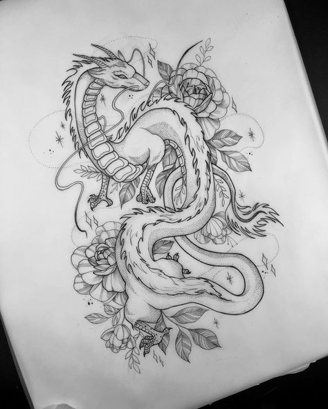 So excited about tattooing Haku # spiritedawaytattoo - So excited . - So excited about tattooing Haku # spiritedawaytattoo – So excited about tattooing Haku # spirited -