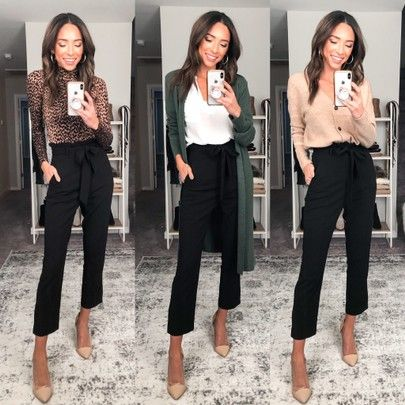 Business Casual Outfits For Work, Business Professional Outfits, Stylish Work Outfits, Professional Work Clothes, Office Attire Women Casual, Work Outfits For Women, Winter Business Casual, Casual Office Outfits Women, What Is Business Casual