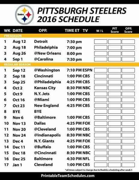This is a graphic of Pittsburgh Steelers Printable Schedule in wallpaper