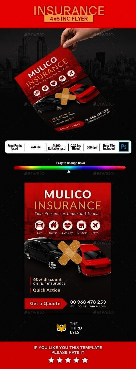 Graphicrivernet Graphicriver Carinsurance Hereflyer Insurance Photoshop Christmas Download Template Edi Flyer Flyer Template Christmas Flyer Template
