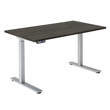 Staples Star Quality Rise Electric Height Adjustable Desk Grey
