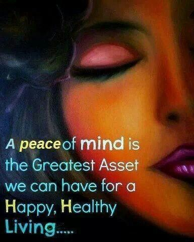 Image result for health and peace of mind quotes