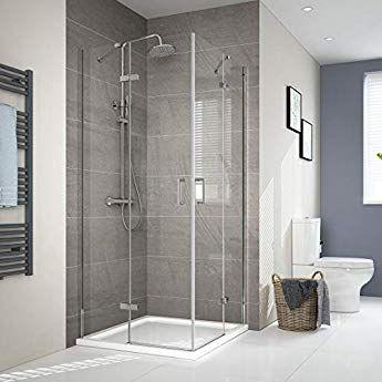 Duschkabine Duschabtrennung Eckeinstieg Falttur Dusche Duschwand