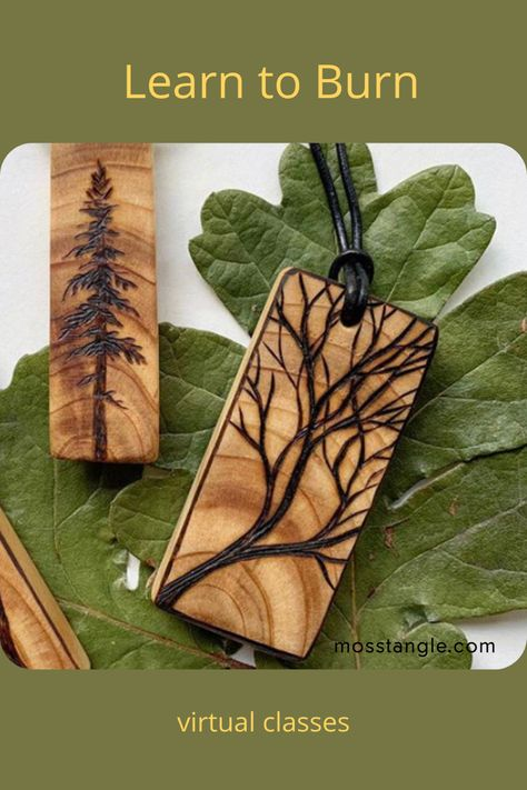 Learn the art of pyrography at home