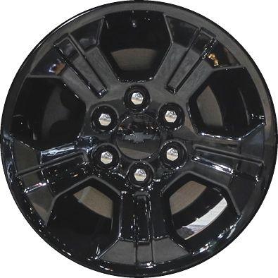 Aly5647u45 5753 Chevrolet Silverado Tahoe Suburban Gmc Sierra Wheel Black 23480949 Chevrolet Silverado Chevrolet Chevrolet Silverado 1500