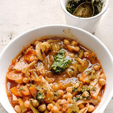 Chickpea, tomato and bread soup | Ottolenghi