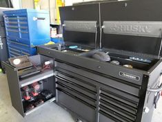 Pin By Randy Butler On House Ideas In 2020 Tool Chest Mobile Workbench Tool Box Organization