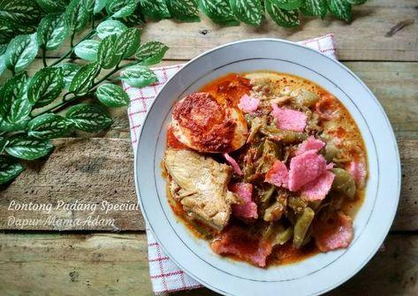 Resep Lontong Sayur Padang Special Oleh Adam S Mommy Resep Makanan Resep Labu